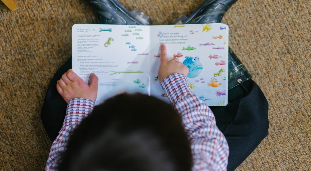 Kind lernt - Bildung ist uns wichtig, deswegen entwicklen wir neue Bildungsformate