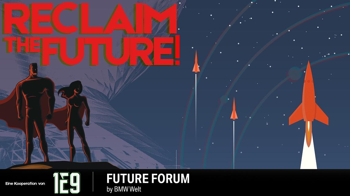 Credits 1E9 Reclaim the Future
