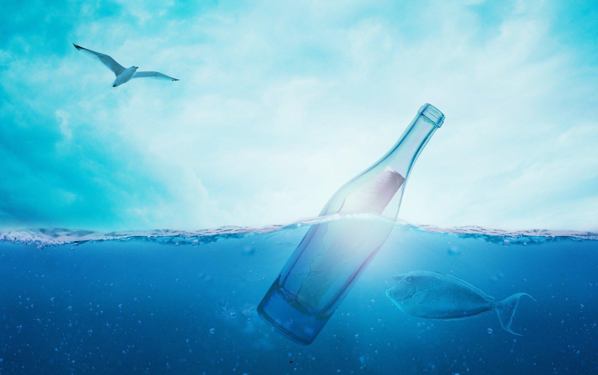Meer Flaschenpost