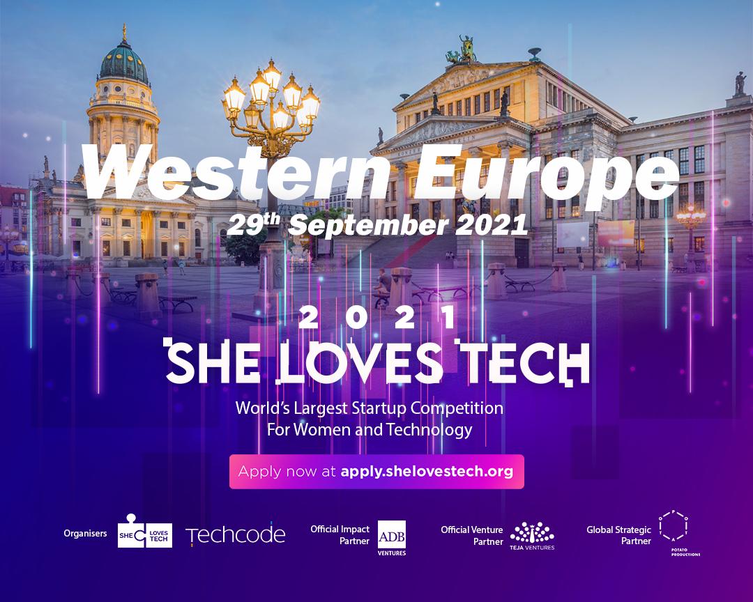 She Loves Tech Western Europe
