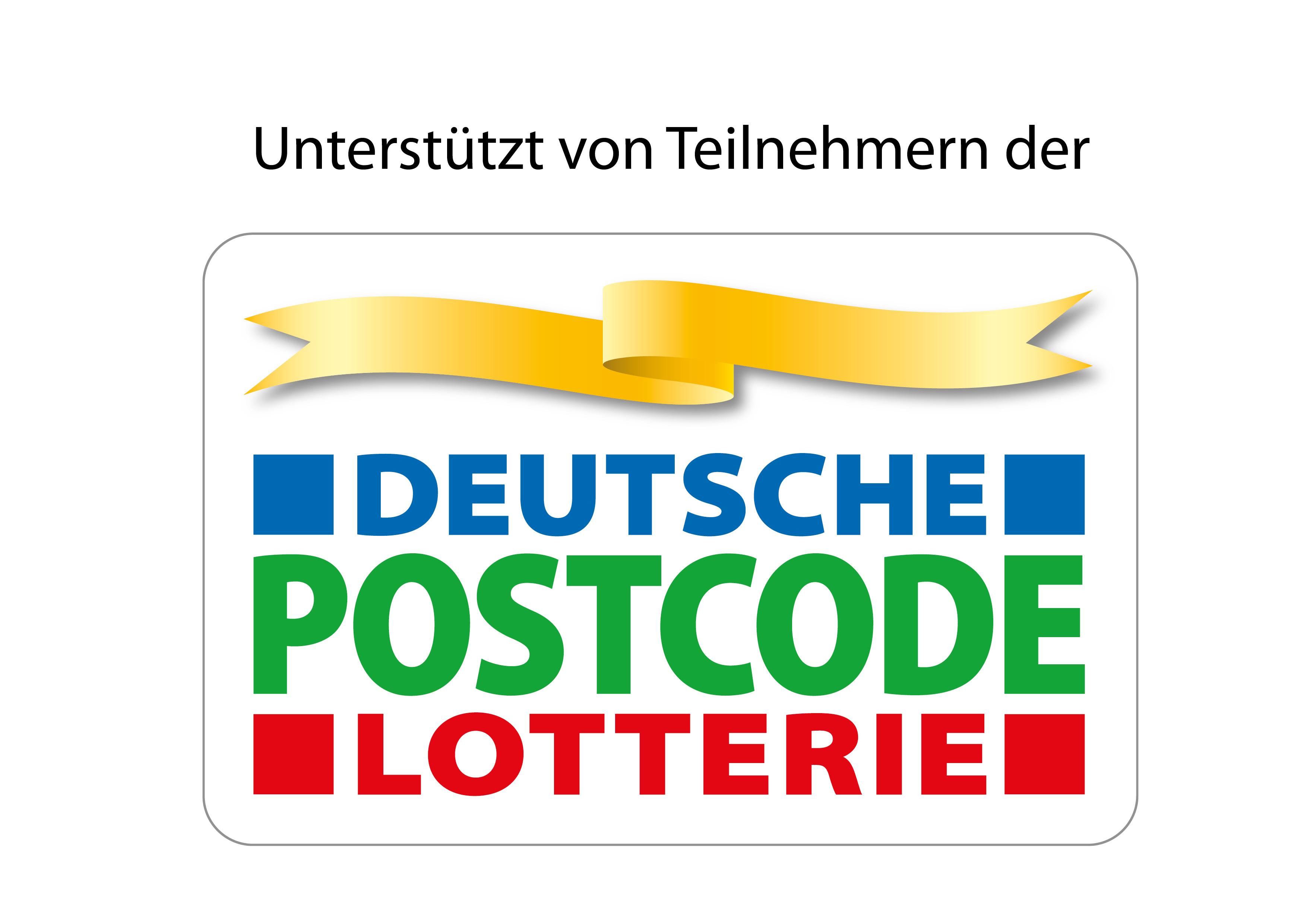 Unterstützt von Teilnehmern der Deutschen Postcode Lotterie