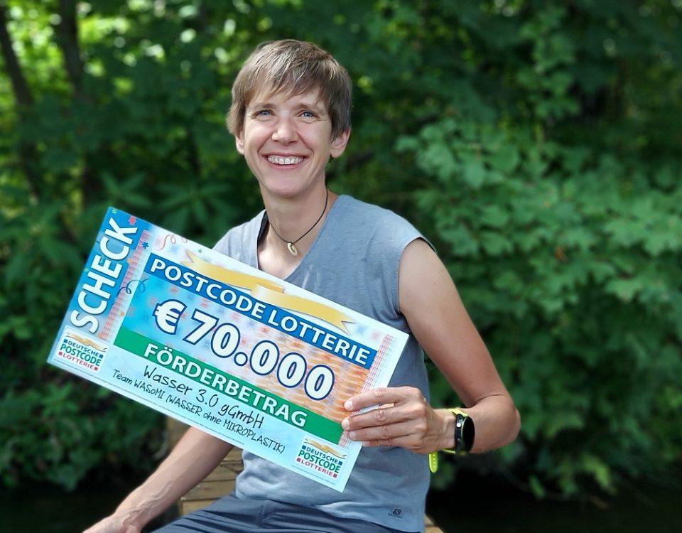 Deutsche Postcode Lotterie unterstützt TEAM WASoMI