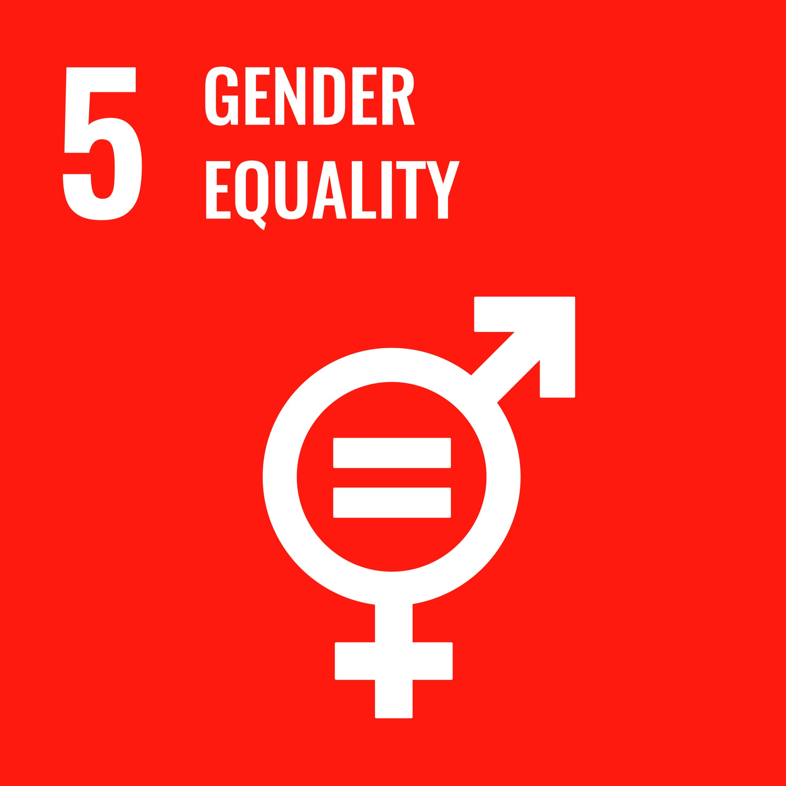 Gender Equality- SDG 5