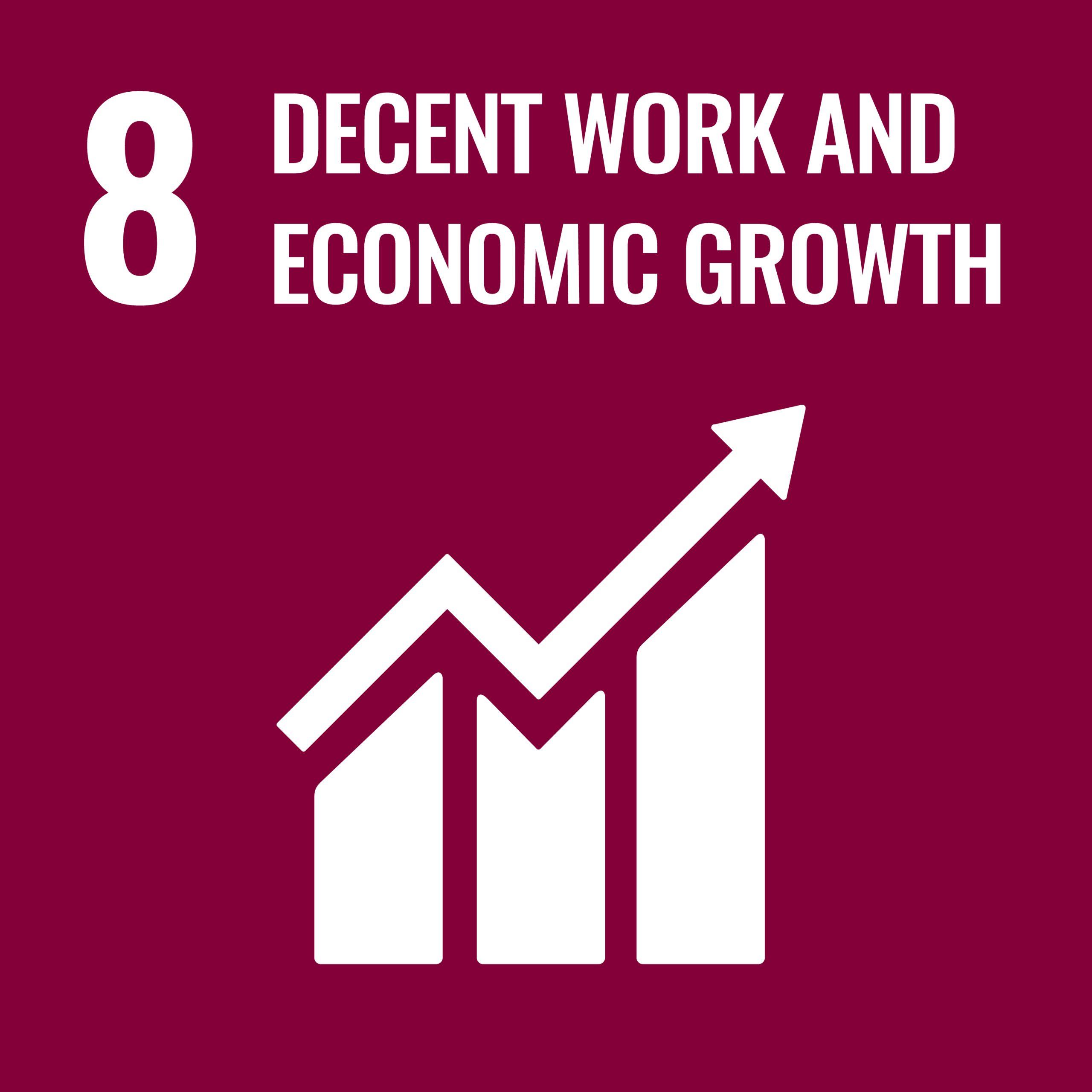 Decent work and economic growth - SDG 8