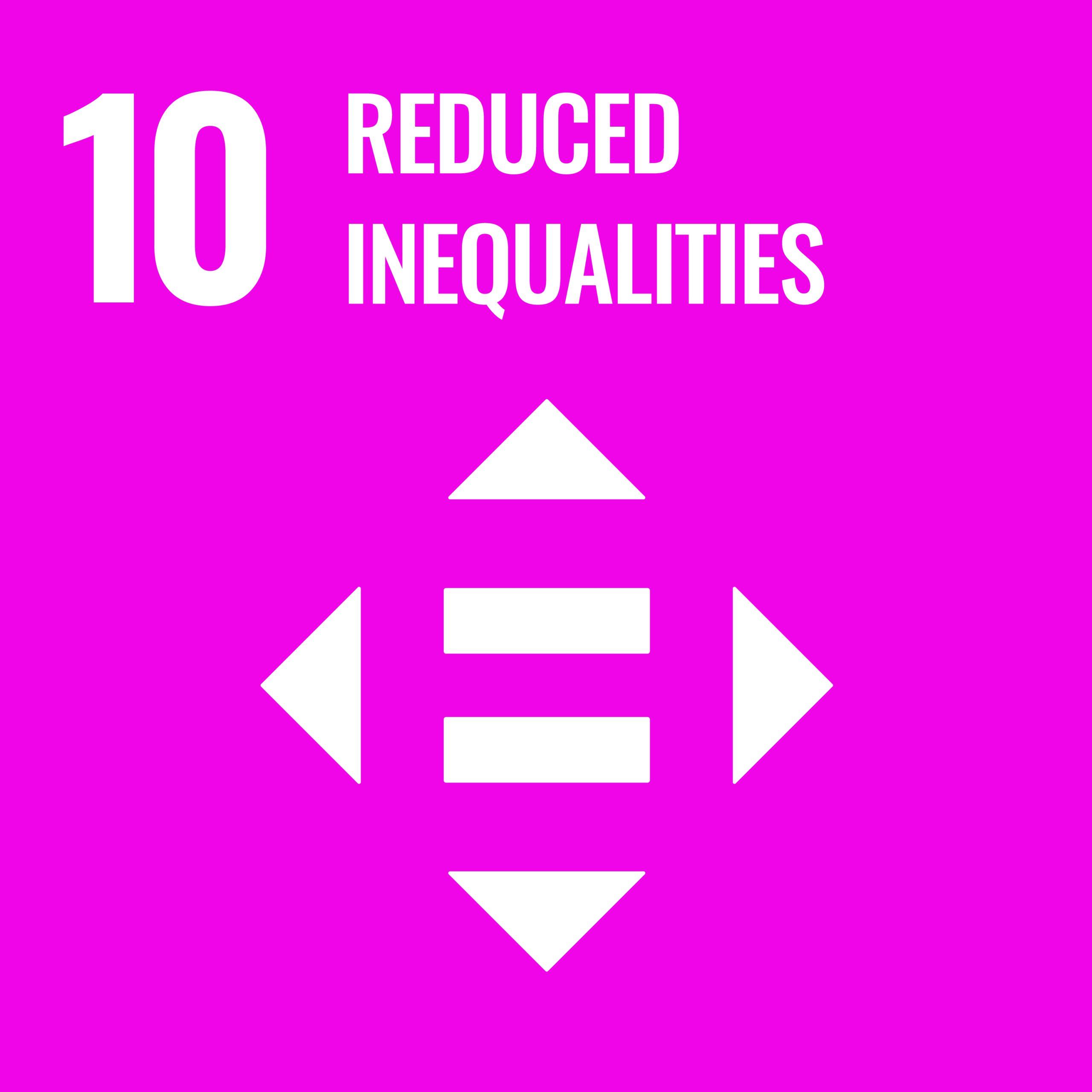 Reduced Inequalitites - SDG 10