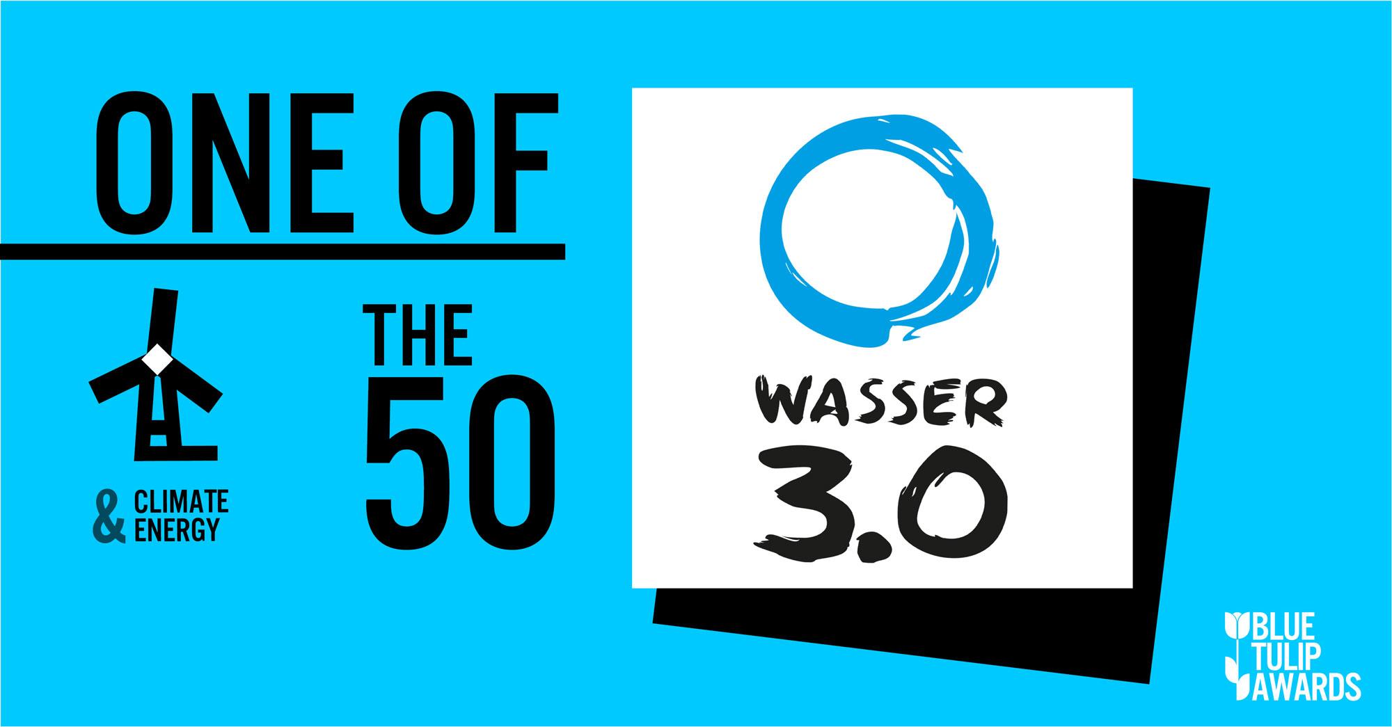 Wasser 3.0 bei den Blue Tulip Awards