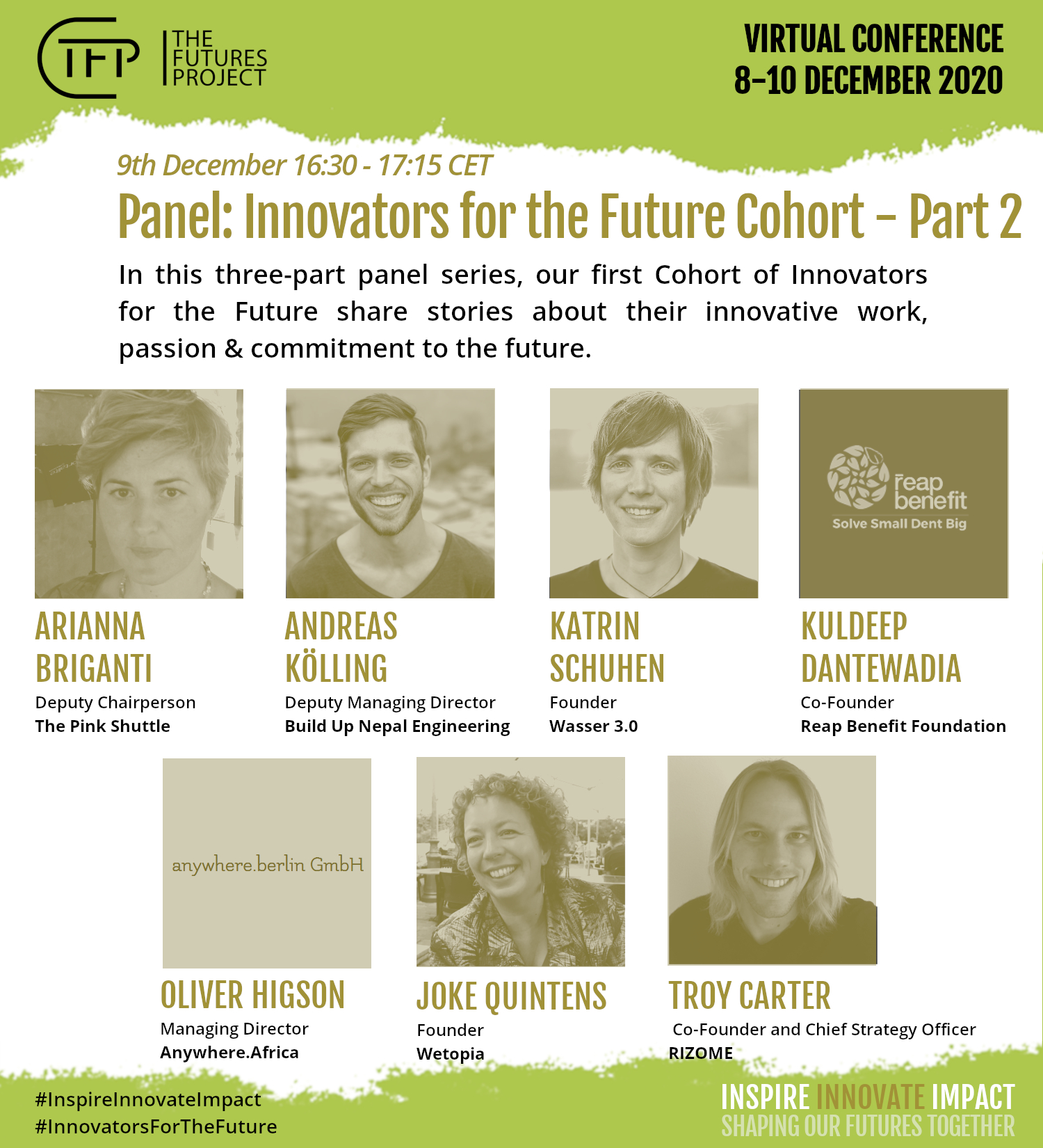 Meet us: 09.12.2020 Flagship Conference - The Futures Project