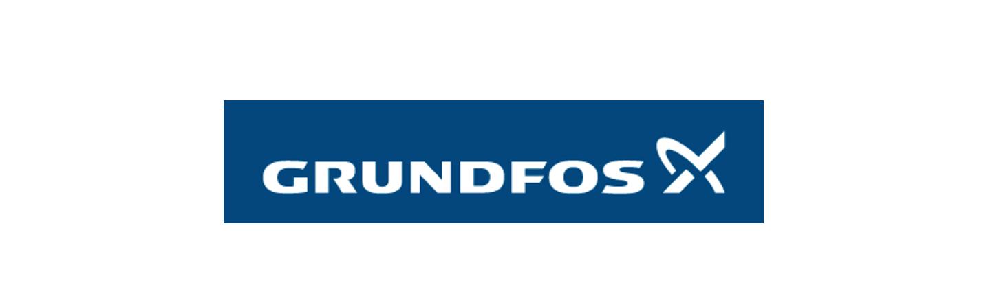 Grundfos Logo: Kooperationspartner Pumpen