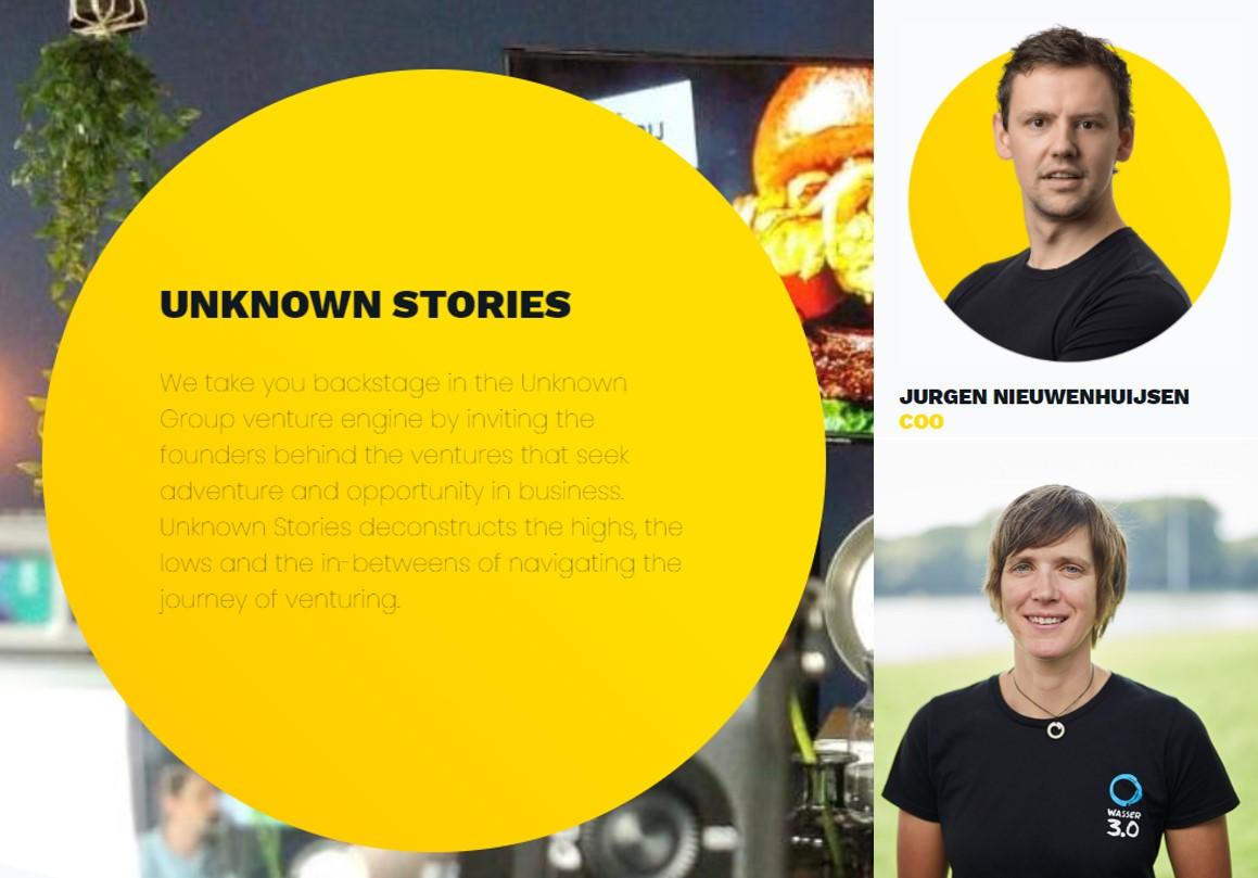Unknown Group - Unknown Stories _ Podcast von und mit Wasser 3.0 und Dr. Katrin Schuhen