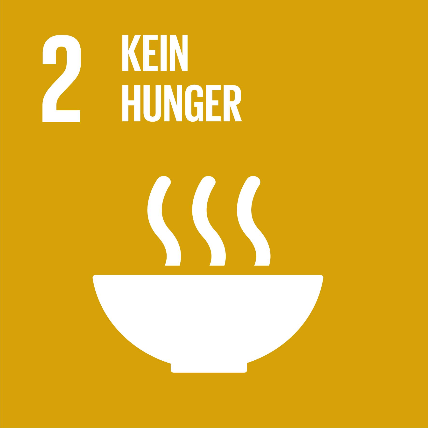 SDG 2 - Kein Hunger