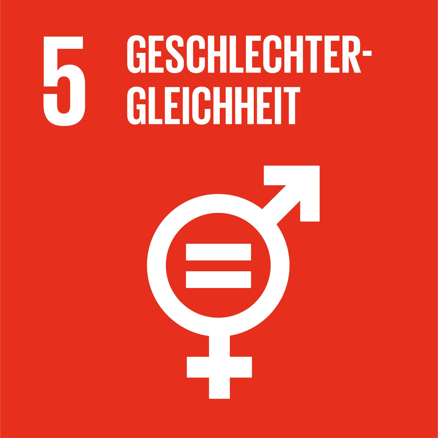SDG 5 Geschlechter-Gleichheit