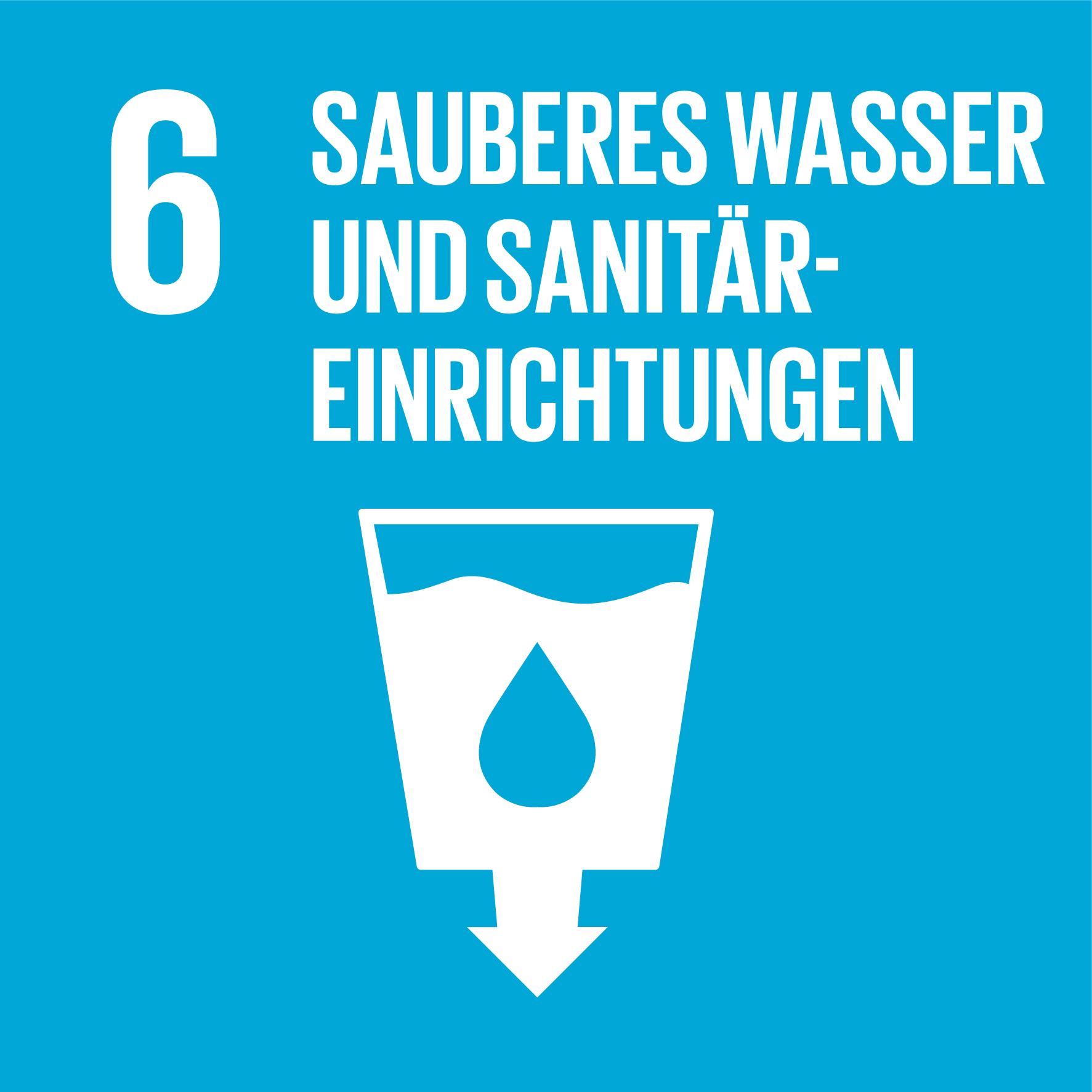 SDG 6 Sauberes Wasser