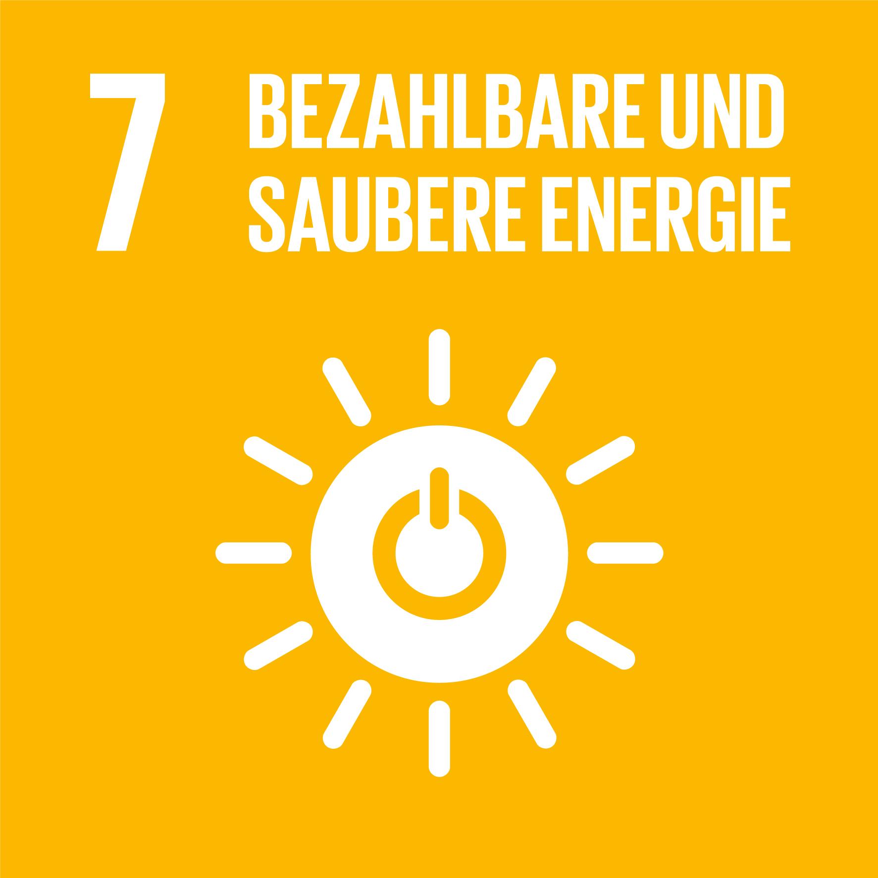SDG7 - Bezahlbare, und saubere Energie