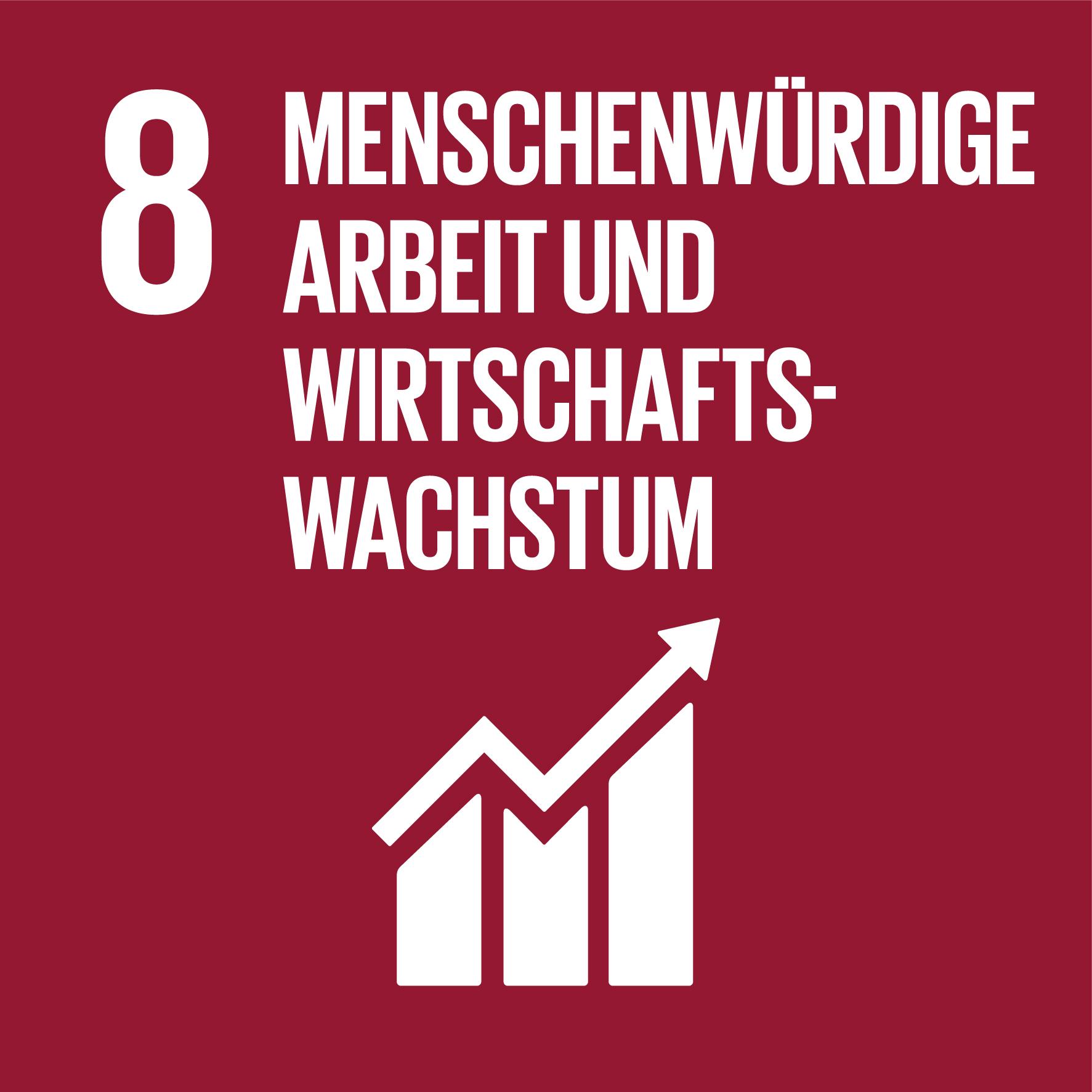 SDG 8 - Menschenwürdige Arbeit und Wirtschaftswachstum