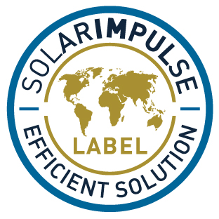 We are one of the 1000 solutions labelled by Solar Impulse Foundation