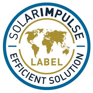 Wir sind Trägerin des Solar Impulse Efficient Solution Labels.