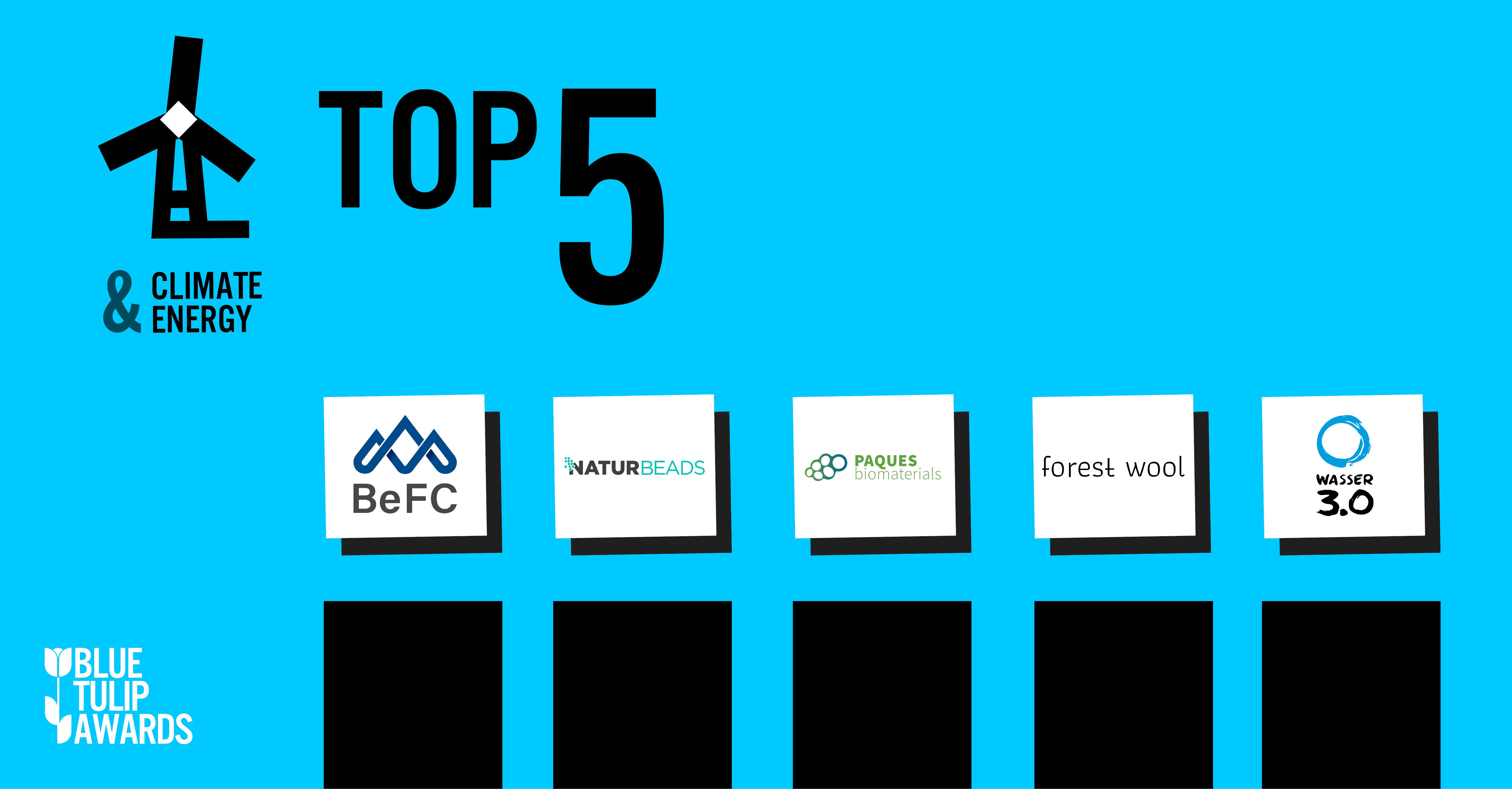 Das sind die Top 5 in der Kategorie Klima und Energie