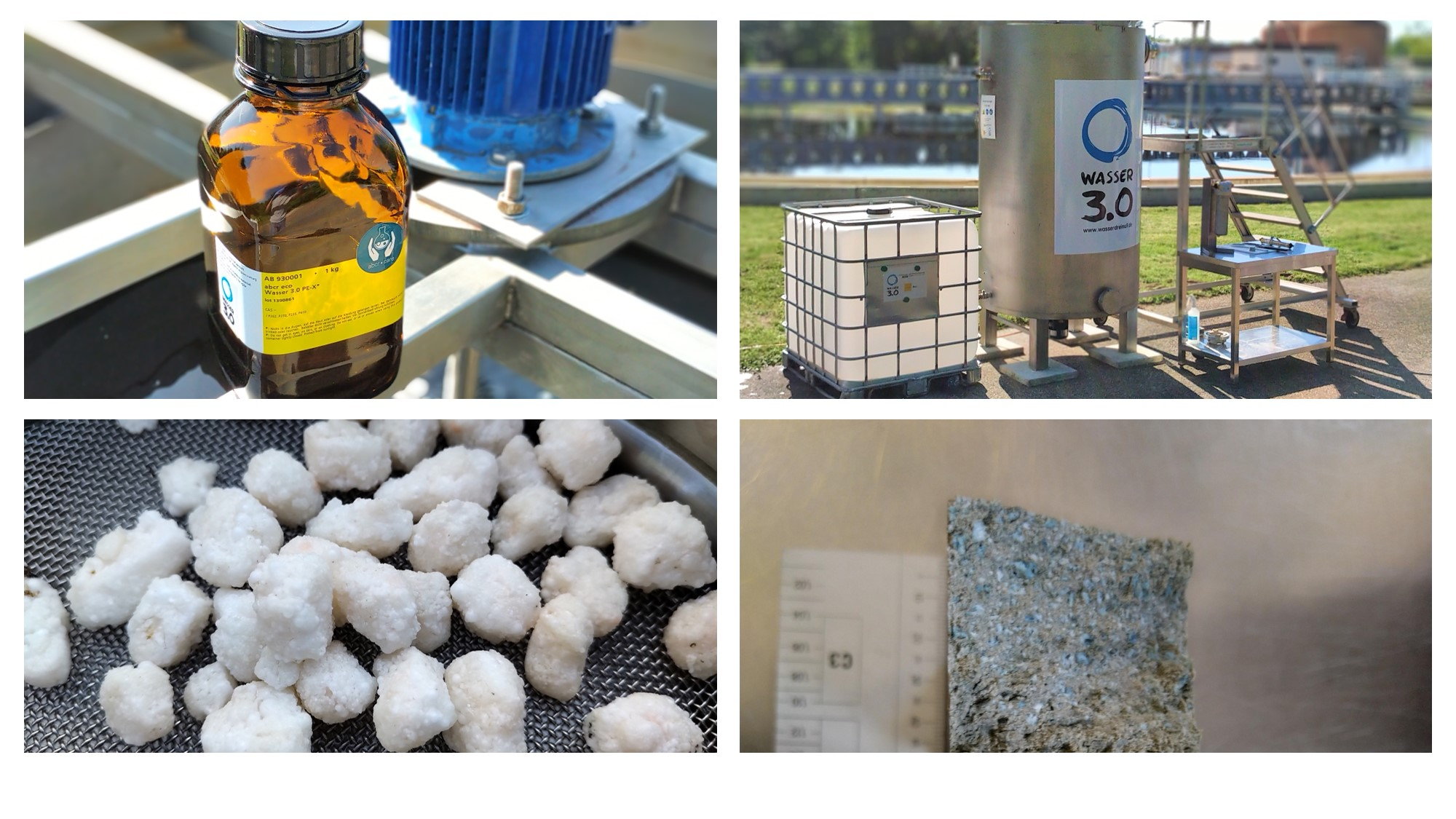 So funktioniert Wasser 3.0 - Einfache Technologie - passgenaue Materalien und ein reuse-Konzept.