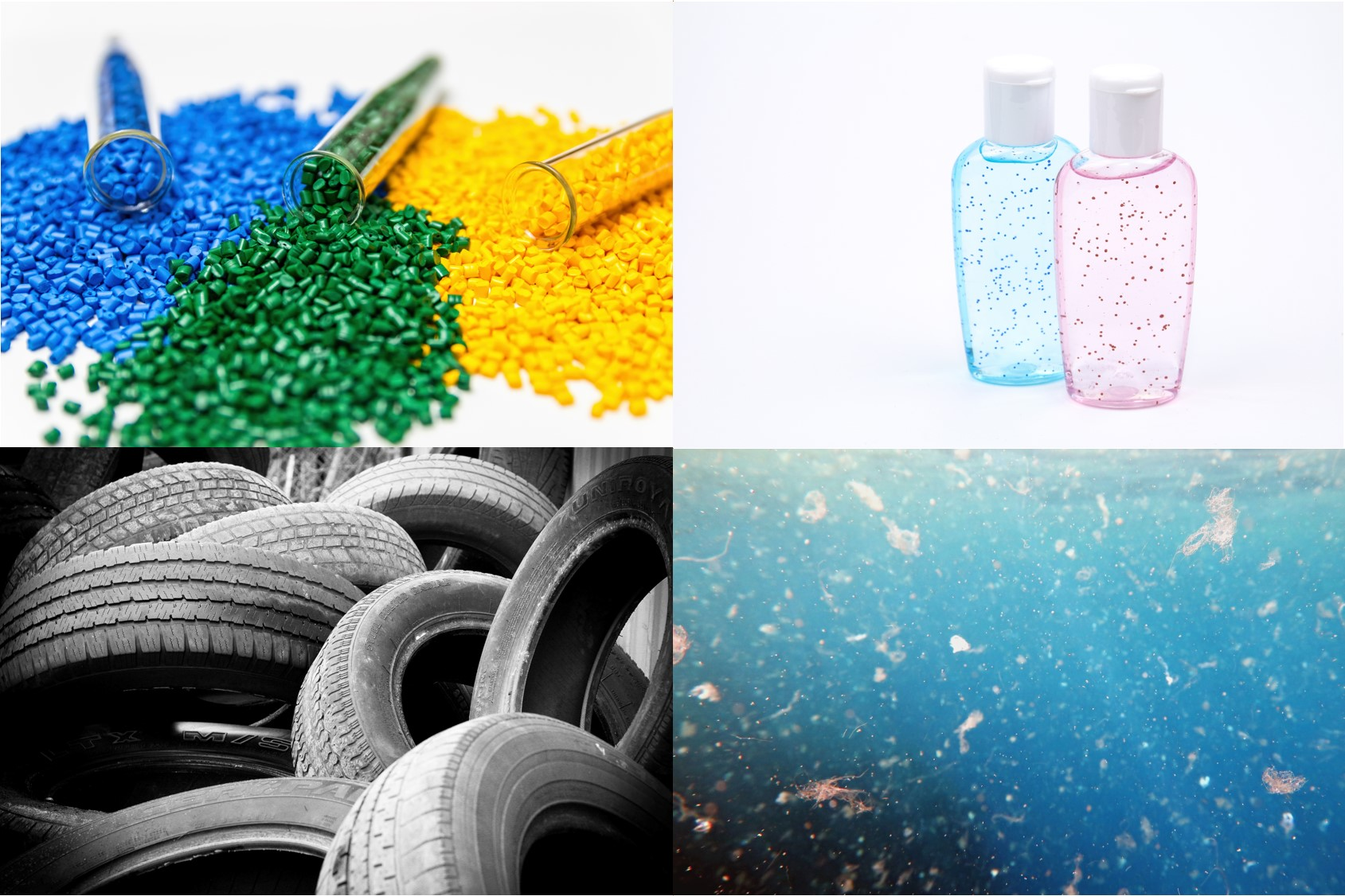 Overview Microplastics - Überblick Mikroplastik