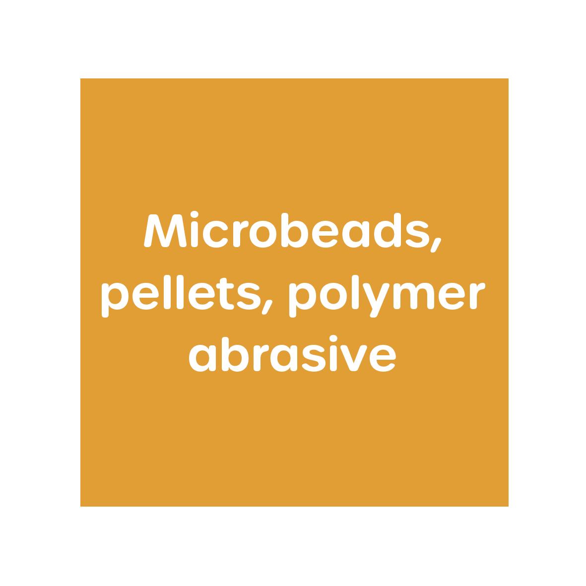 Microbeads Microplastics