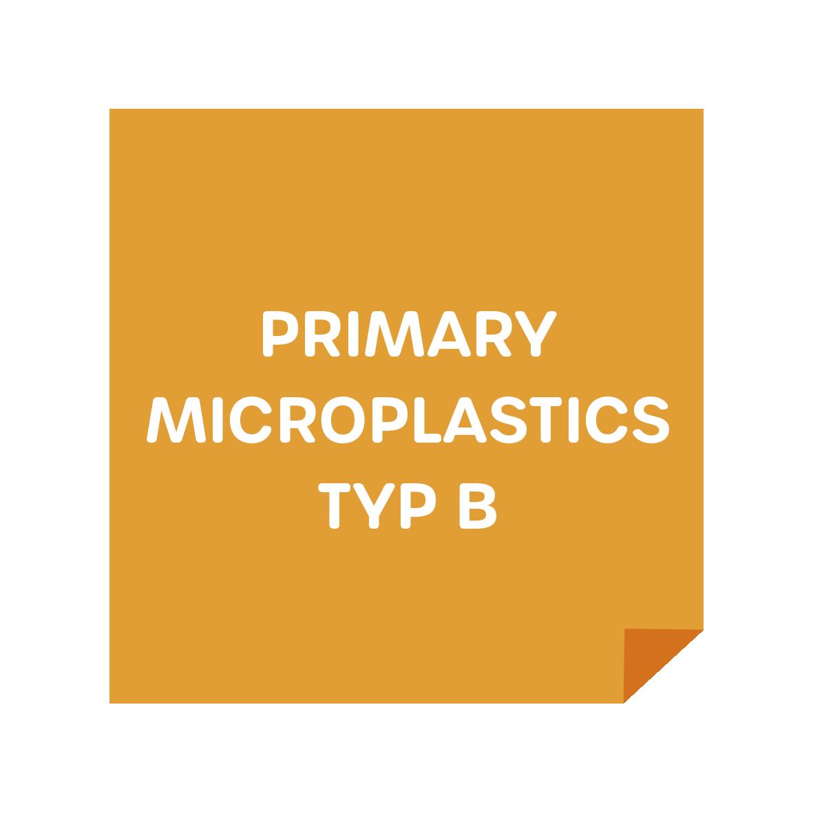 Primary Microplastics Typ B