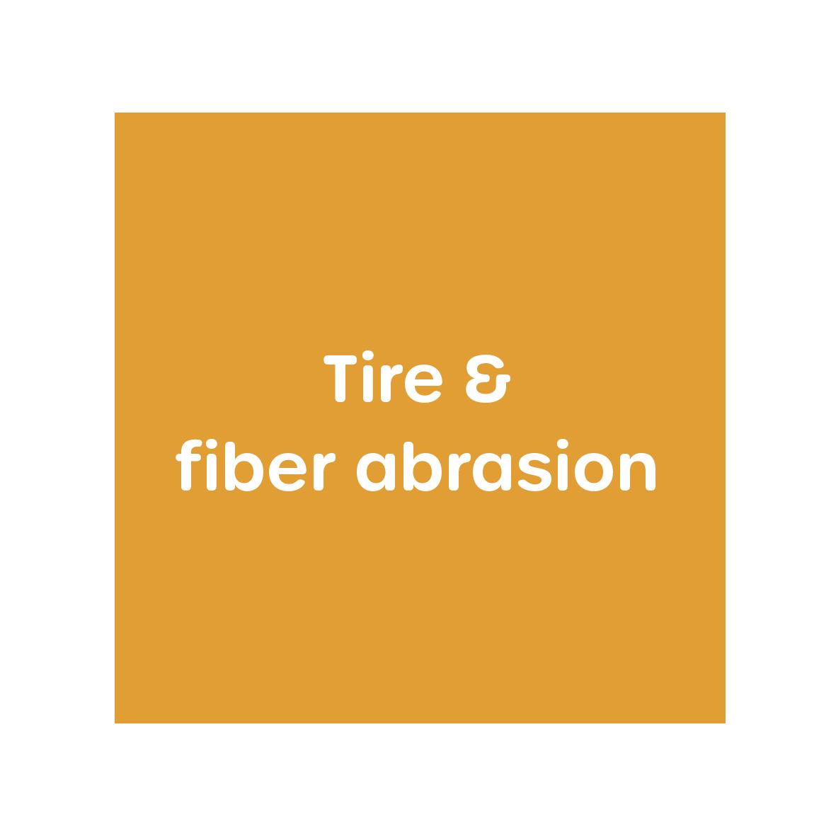 Abrasion - abrasive particles