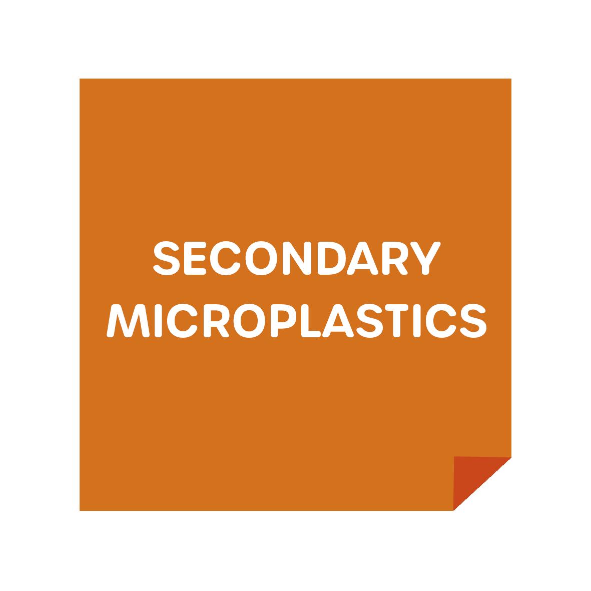 Secondary Microplastics