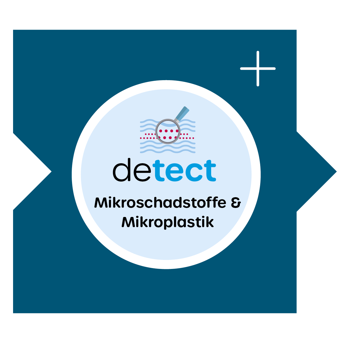 Mikroplastik und Mikroschadstoffe detektieren