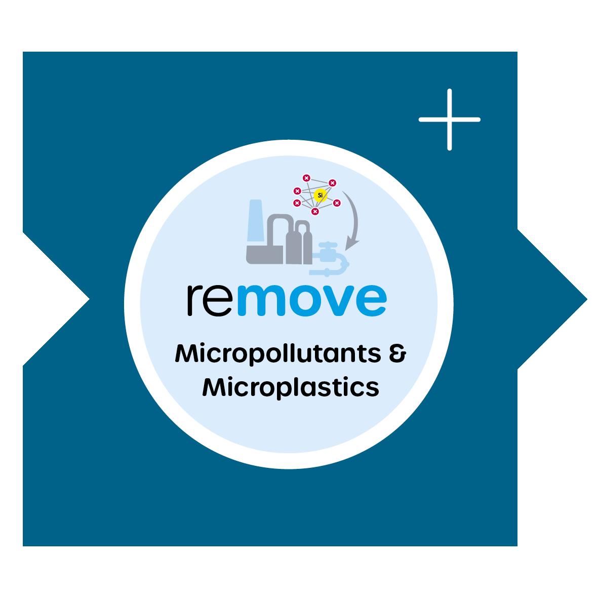 remove Micropollutants and microplastics / Mikroschadstoffe und Mikroplastik