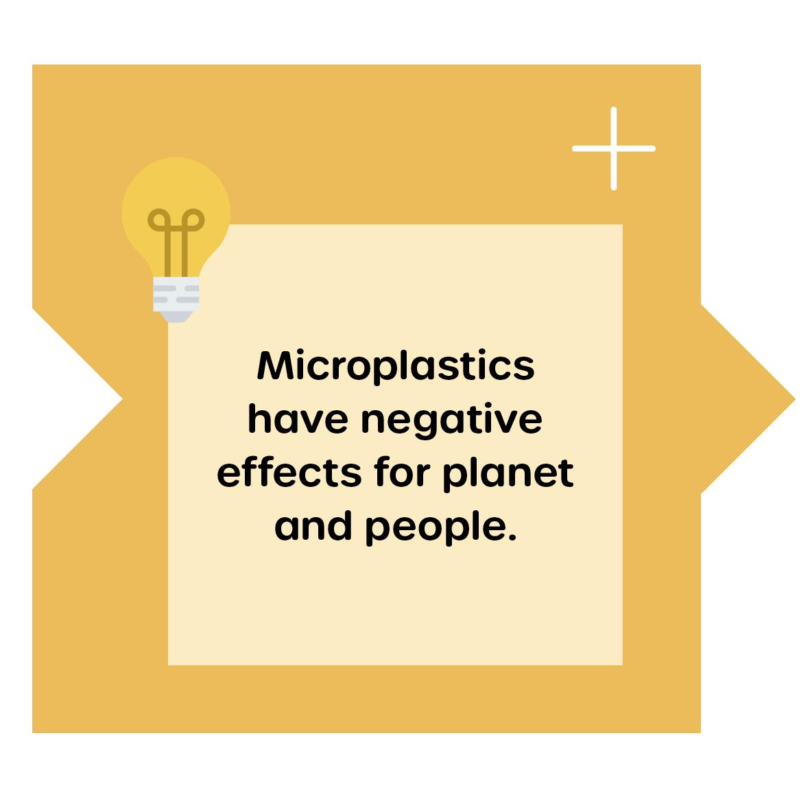 Negative effects of microplastics