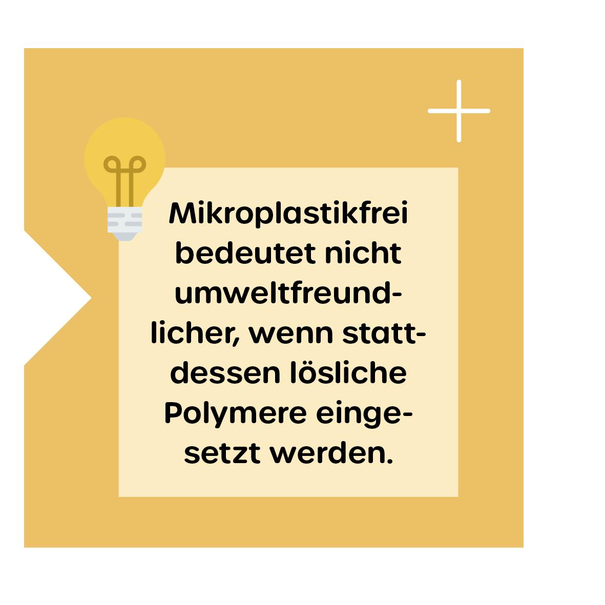 Mikroplastikfrei