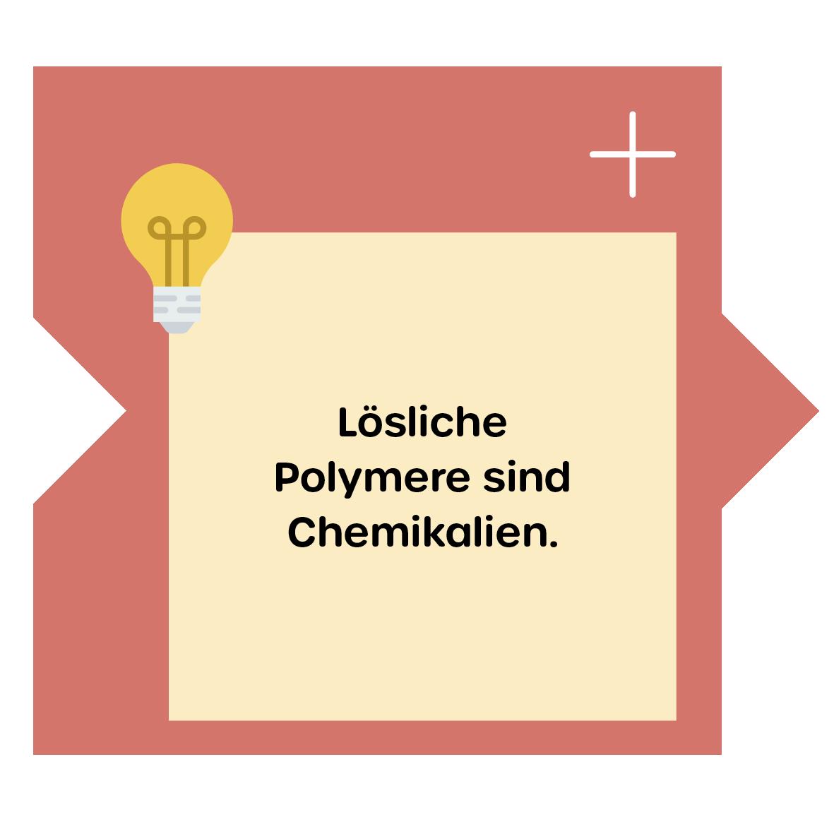 Lösliche Polymere Chemikalien