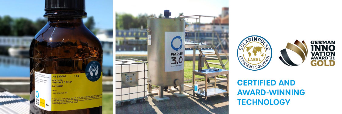 Certified and awarded technology - Wasser 3.0 PE-X
