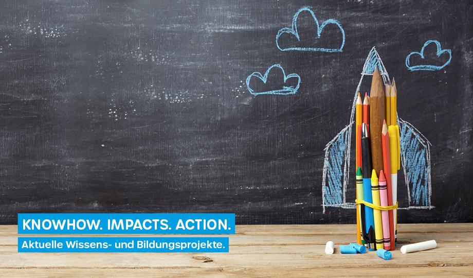 KNOWHOW. IMPACTS. ACTION. Bildungsprojekte