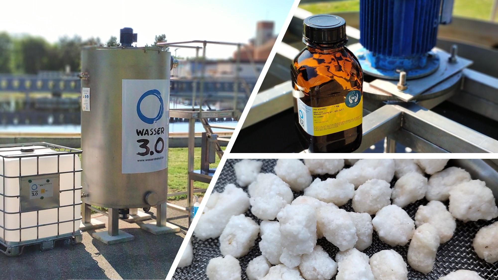 Wasser 3.0 PE-X in Abläufen