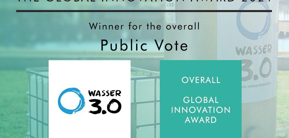 Overall winner des Global Innovation Awards 2021