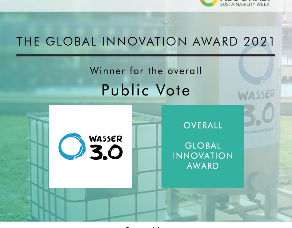 Overall winner des Global Innovation Awards 2021