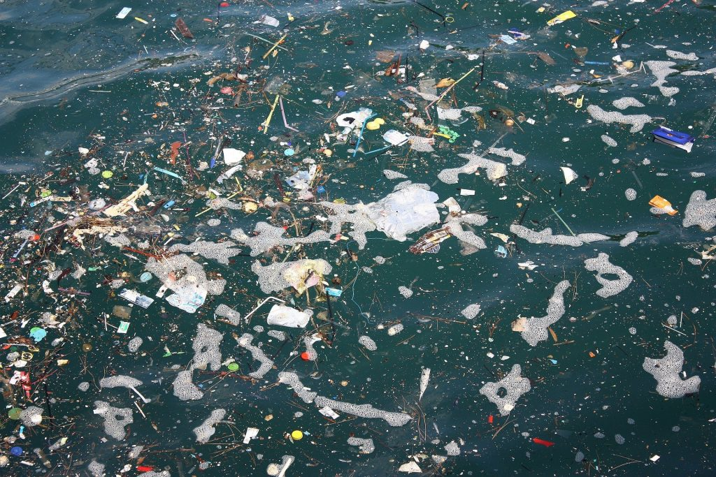 Plastikmüll im Meer