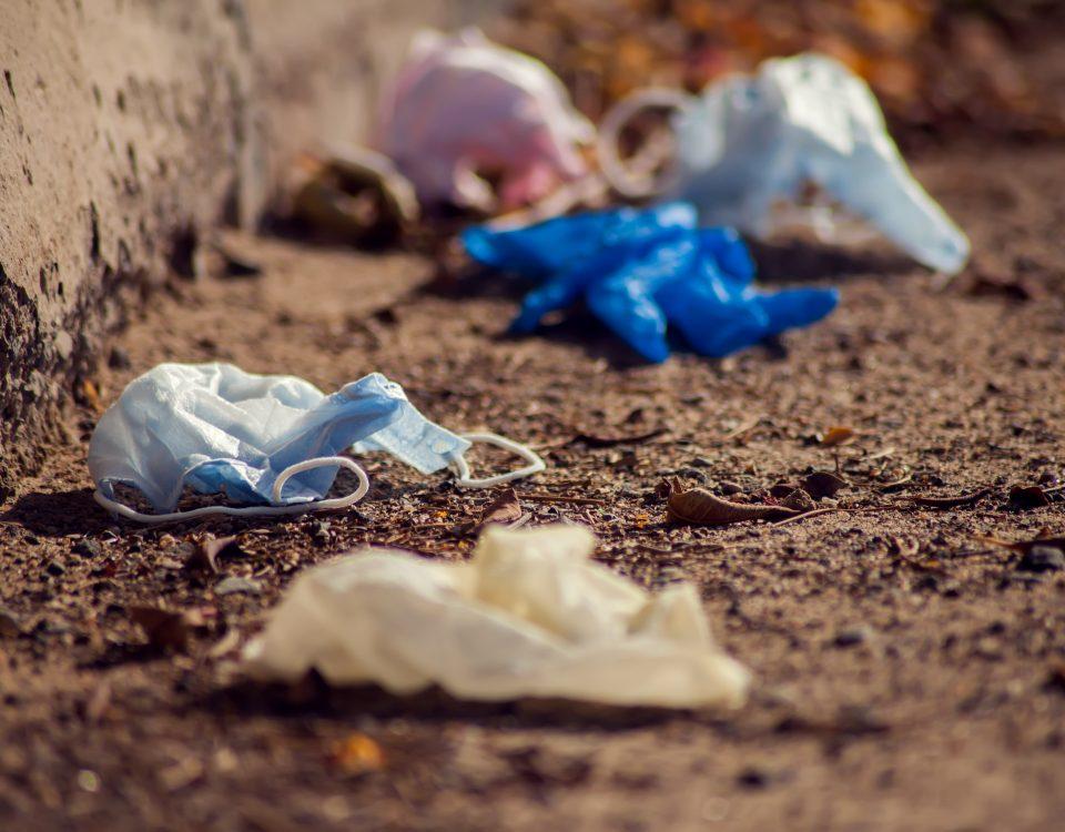 Die Mund-Naseschutz-Maske: Ein Müllproblem lauert.