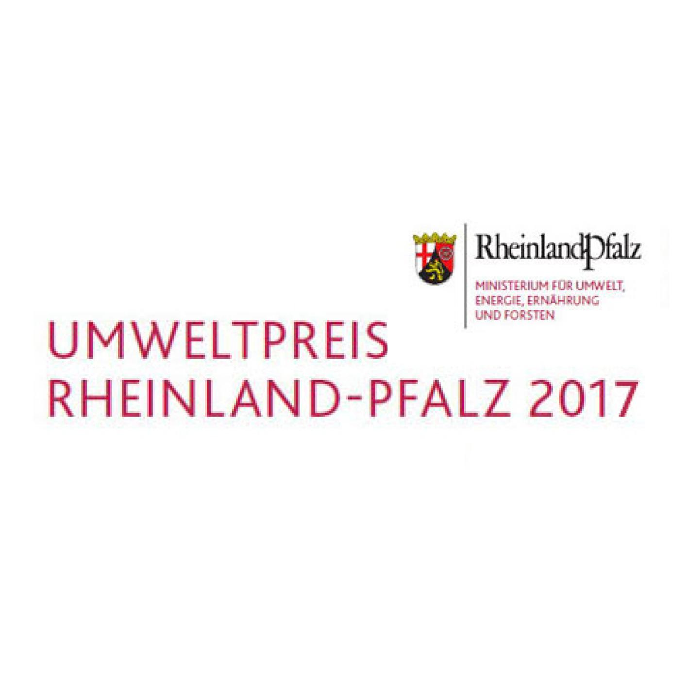 Umweltpreis Rheinland-Pfalz 2017