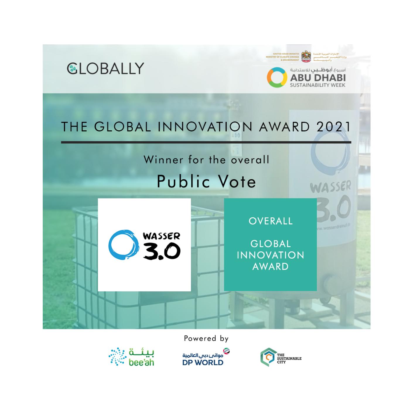 Global Innovation Award 2020